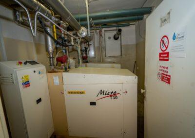 Mikroelektrárna Onsite Power - Centrum trvalého zdraví Cordeus, Praha