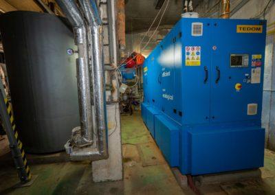 Mikroelektrárna Onsite Power - Hotel Fit Fun Harrachov