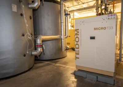 Mikroelektrárna Onsite Power - hotel Savannah Chvalovice