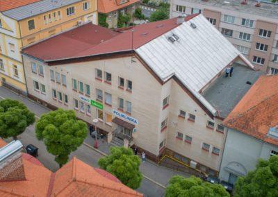 Mikroelektrárna Onsite Power - Poliklinika Český Krumlov