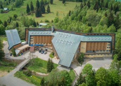 Mikroelektrárna Onsite Power - Hotel Fit Fun Harrachov